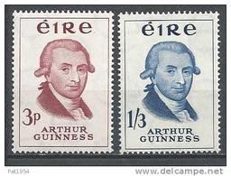 Irlande 1959 N°142/143 Neufs ** Guinness - Nuovi