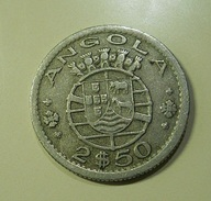 Portugal Angola 2 1/2 Escudos 1953 - Portugal