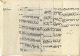 D149 Dokumente Diplomarbeit Dr. Phil. Hans Ochsenius Hamburg Familienrecht 1943 Studentenfunktionär  NSDAP Signiert - Diplome Und Schulzeugnisse