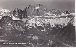 CP Dolomitit - M. Catinaccio Presso Bolzano - 1957 (28579) - Bolzano (Bozen)