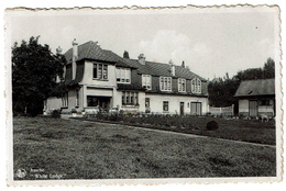Assche, White Lodge, Circulée En 1945 - Uitg. Drukkerij Van Geertruyen - 2 Scans - Asse