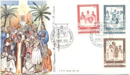 VATICANO - VATICAN - 1965 - Santificazione Dei Martiri Dell'Uganda - 2 FDC - Roma - FDC