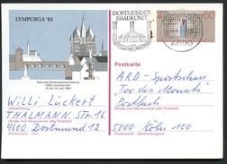DORTMUNDER BRAUKUNST 1984 Auf BUND PSo8 Sonderpostkarte LYMPURGA