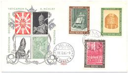 VATICANO - VATICAN - 1966 - Concilio Ecumenico Vaticano II - 2 FDC - Siligato - FDC