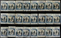 _6R-531: Restje Van 24 Zegels Uitgifte 1952: N° 324: ... Om Verder Uit Zoeken.... - Belgisch-Kongo