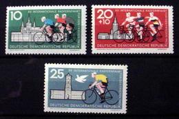 GERMAN DEMOCRATIC REPUBLIC # 603-604, B89.  15th Int'l Bicycle Peace Race. MNH (**) - [6] Democratic Republic