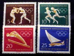 GERMAN DEMOCRATIC REPUBLIC # 488-491.  Winter & Summer Olympics.  MNH (**) - [6] Democratic Republic