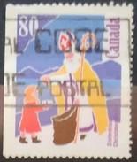 CANADA 1991 Navidad. 4 C. USADO - USED.