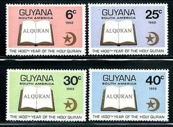 "Guyana    ""Open Koran""     Set   SC# 60-63   MNH - Guyana (1966-...)"