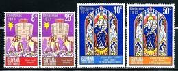 "Guyana    ""Christmas 1973""     Set   SC# 184-87   MNH - Guyana (1966-...)"