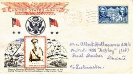 U.S. D.P.O. VERERANS  HOME TO PEARL HARBOR  CROSBY COVER  1942 - United States