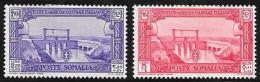 Somalia, Scott # B36-7 Mint Hinged  Irrigation Canal, 1930 - Somalia
