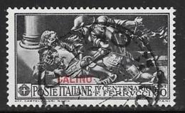 Italy  Aegean Islands Calino, Scott # 14 Used Ferrucci Issue, Overprinted, 1930 - Aegean (Calino)