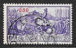 Italy  Aegean Islands Coo, Scott # 12 Used Ferrucci Issue, Overprinted, 1930 - Aegean (Coo)