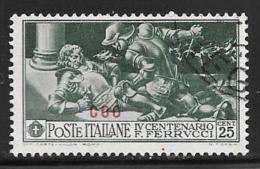 Italy  Aegean Islands Coo, Scott # 13 Used Ferrucci Issue, Overprinted, 1930 - Aegean (Coo)