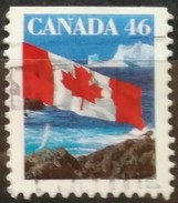 CANADA 1998 Bandera Nacional. 2 C. USADO - USED.