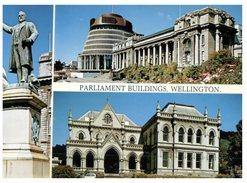 (245) New Zealand - Wellington Parliament - Nuova Zelanda