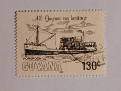 GUYANE  1983  LOT# 1 SHIP - Guyane (1966-...)