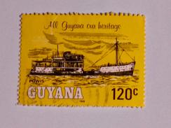 GUYANE  1983  LOT# 2  SHIP - Guyane (1966-...)