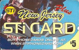 New Jersey STi Card - Paper Card - United States