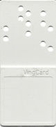 Hard Plastic VingCard Hotel Room Key Card Made In Norway With Punched Holes - Hotel Keycards