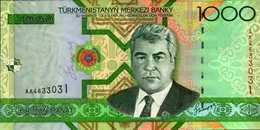 TURKMENISTAN 1000 MANAT De 2005  Pick 20  UNC/NEUF - Turkménistan