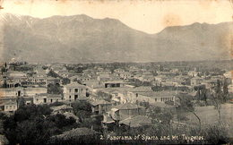 Grèce - Panorama Of SPARTA And Mt Taygeios - Grecia