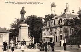 LORIENT -56- PERSPECTIVE DE LA PREFECTURE MARITIME - Lorient