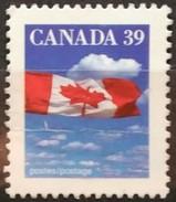 CANADA 1989 Bandera Nacional. 2 C. USADO - USED.