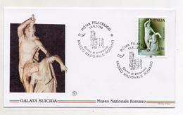 Italia - 1994 - Busta FDC - Museo Nazionale Romano - Galata Suicida - Con Doppio Annullo - (FDC4474) - FDC