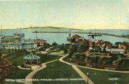IRELAND (?) - Royal Marine Gradens Pavilion & Harbour Kingstown - Giamaica
