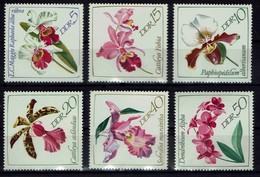 DDR 1968 - MiNr 1420-1425 - Orchideen - Orchideen