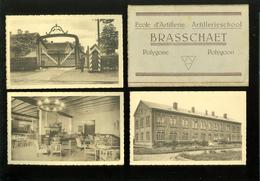 Brasschaet - Polygone  Brasschaat - Polygoon  : Omslag Met 4 Postkaarten : Ecole D' Artillerie   Artillerieschool - Brasschaat