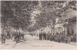 CPA - Maussane (13) - Café De La Fontaine - France
