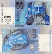 SLOVAKIA       50 Korún       Comm.       P-35       1.9.1995 (2000)       UNC - Slovacchia