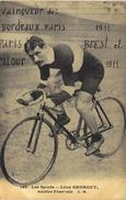 Carte Postale Ancienne De CYCLISME - Ciclismo