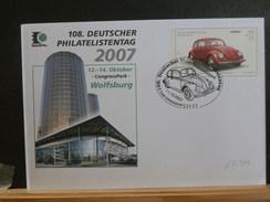 67/514  ENV.  ALLEMAGNE - Autos