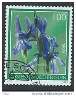 Stamp Of Liechtenstein 2014: Fleur Flower Garden SEPAC Used Oblitere Usata Briefmarken - Gebraucht