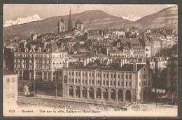 Carte Postale De Genève 1909 - GE Geneva