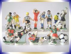 Foot 98 .. Lot De 13 Fèves Pays... Ref. AFF : 81-1998 ..( 0031) - Sports