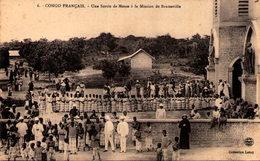 CONGO FRANÇAIS - Une Sortie De Messe à La Mission De Brazzaville - Congo Français - Autres