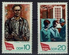 DDR 1968 - MiNr 1363-1364 - Gewerkschaftsbundes (FDGB) - Ungebraucht