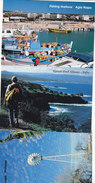 Cyprus Lot Of 11 Postcard MNH,VALID For Postage-all Differents In 4 Scans-all Same Verso Postage Paid.SKRILL PAY.ONLY - Cyprus