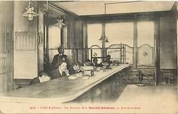 - Orne -ref-B675- L Aigle - Laigle - Societe Generale - 12 Rue De La Gare - Bureaux - Banque - Banques -carte Bon Etat - - L'Aigle