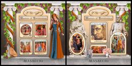 SOLOMON Isl. 2017 - Masaccio. M/S + S/S