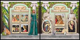 SOLOMON Isl. 2017 - Sandro Botticelli. M/S + S/S