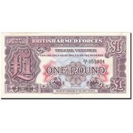 Grande-Bretagne, 1 Pound, 1948, KM:M22a, Undated (1948), SUP - Military Issues