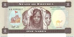 ERITREA 1 NAKFA 1997 P-1 UNC [ ER101a ] - Eritrea
