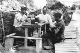Militaria WW1 - Artilleurs Belges à Ramscapelle - 1914-18