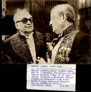 PHOTO - Photo De Presse - MARCEL ACHARD - Auteur - Académicien - MERCEL PAGNOL - 1974 - Célébrités